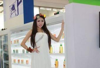 第二十五届中国制冷展之美女助阵