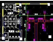 某科技交流中心空调平面及系统图