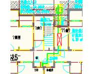 [山东]六层住宅建筑采暖系统设计施工图(半地下建筑 含负荷计算)