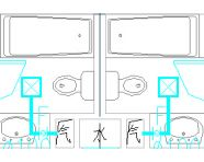 高层商业公寓楼机械通风及防排烟系统施工图