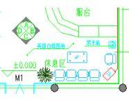 某网吧机房装修空调改造工程图