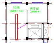 某八层办公楼空调平面设计图