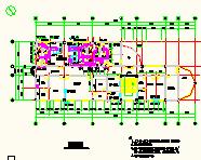 [江西]医药仓库及办公质检楼净化空调系统设计施工图