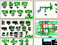 某厂区热力管网施工图