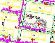 某小区室外供热管网图