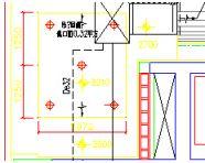 某住宅电梯大堂空调设计平面图