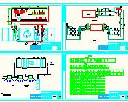 [江西]医药厂房净化空调系统设计施工图(含装饰)