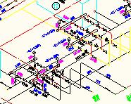 大型冷库氨压缩机房氨系统图