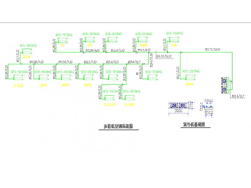 [黄石]某酒店总统套房VRV系统设计图纸