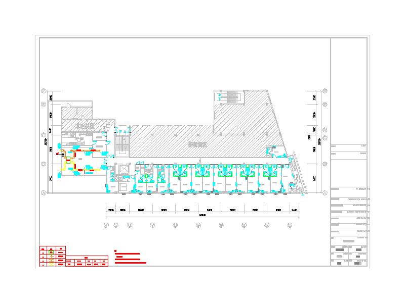 [泉州]某快捷酒店通风设计施工图