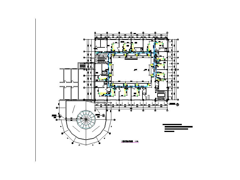 某酒店空调系统设计图纸