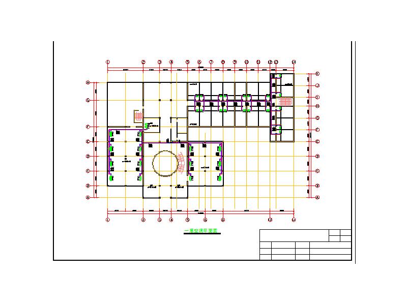 广西柳州某酒店中央空调工程设计图