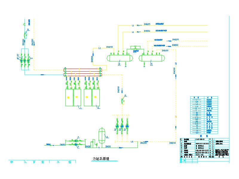 重庆某宾馆空调机房图