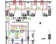 某展览中心地板辐射采暖设计图