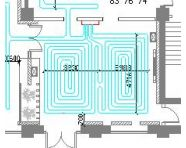 一规划展览大厅地暖设计