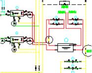 空调机房双管图