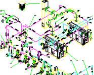直燃机组系统图