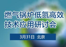 燃气锅炉低氮高效技术应用研讨会