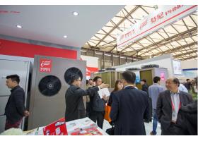 芬尼克兹空气能热泵高调亮相中国制冷展