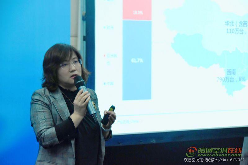 产业在线董事长兼总经理杨洁女士