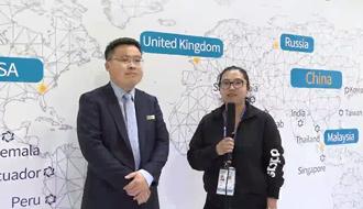 暖通空调在线采访顿汉布什(中国)工业有限公司市场部经理杜国良先生