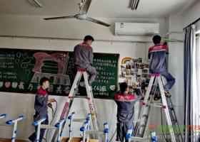 """为223所学校装空调、吃住实验室55天、走访收购站…… 他们正在为城市""""重启""""奋斗"""