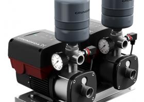 格兰富推出CMBE TWIN智能双泵增压系统
