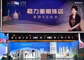 """匠心""""中国风""""吹进洛阳城  格力洛阳直播销售再破百亿"""
